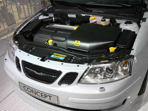 2007 Saab Biopower Hybrid Concept Latest News Features And Auto
