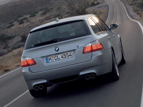 2008 Bmw M5 Touring Auto Show Coverage Automobile Magazine