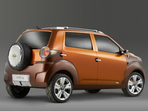 2007 Chevrolet Trax Concept Latest News Auto Show Coverage And