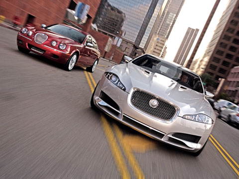 first drive! 2007 jaguar c-xf concept - latest news, features, and