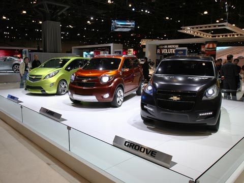 2007 Chevrolet Beat Groove And Trax Concepts