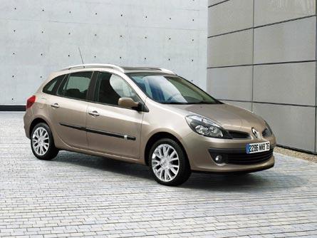 2008 Renault Clio Estate 2007 Frankfurt Auto Show Automobile