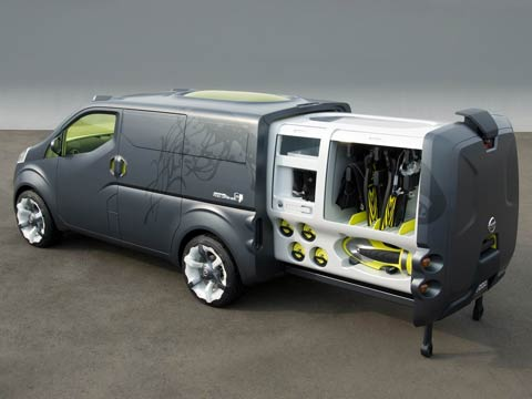 2007 Nissan Nv200 Concept Latest News Features And Auto Show