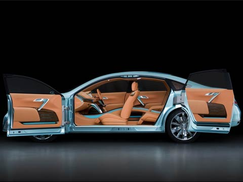 2007 Nissan Intima Concept Latest News Features And Auto Show