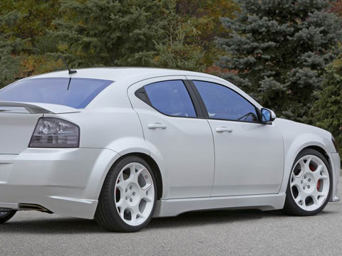 2007 Dodge Avenger Stormtrooper Concept Latest News Features And