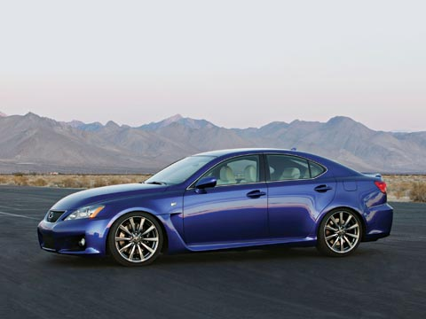 Lexus Claims That The New Eight Cylinder Lexus IS F Doesnu0027t Compete  Head To Head With The Audi RS4, The BMW M3, And The Mercedes Benz C63 AMG.