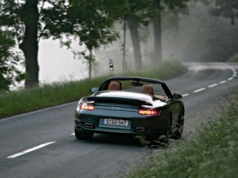 2008 Porsche 911 Turbo Cabriolet Luxury Sports Car Automobile