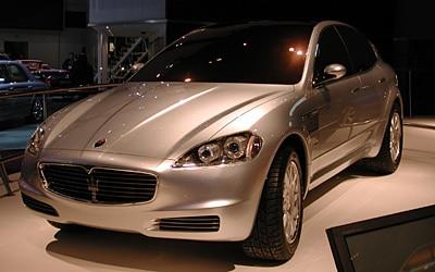 2004 Maserati Kubang - 2003 NAIAS Detroit Auto Show Coverage ...