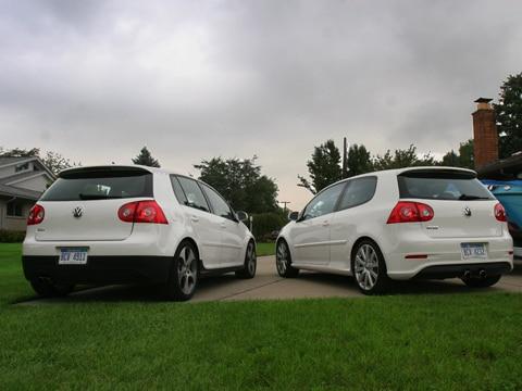 Pimped 2007 Volkswagen GTI vs. VW R32 - Automobile Magazine