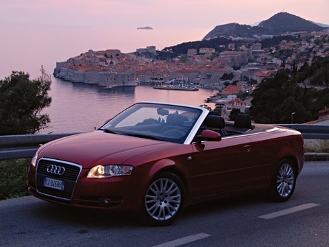 2008 Audi A4 Cabriolet Adriatic Odyssey Latest News Features
