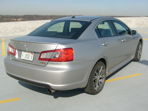 2009 mitsubishi galant ralliart - mitsubishi sport sedan review