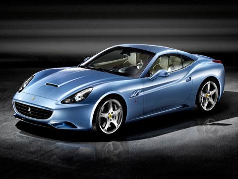 More Glamour Shots Of The 2009 Ferrari California Latest News