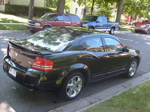 2008 Dodge Avenger R/T - Dodge Midsize Sedan Review