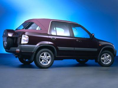 Honda Hrv Vs Crv >> 1998 Honda CR V Convertible Concept