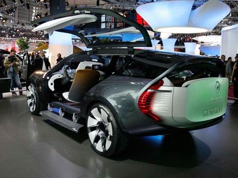 2008 Renault Ondelios Concept 2008 Paris Motor Show Coverage New