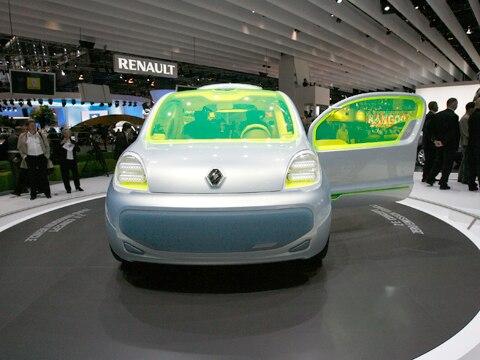 2008 Renault Kangoo Be Bop Ze Concept 2008 Paris Motor Show