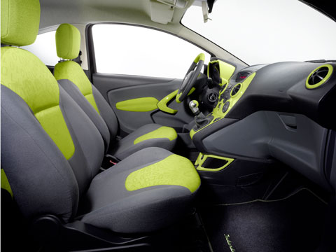 According To Ford The Ka Digital Art Brings A Vibrant Street Fashion To The New Subcompact By That We Assume It Means Neon Green Accents The Color