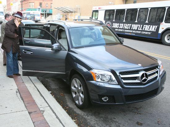 ... Mercedes Benz GLK350 Lands In Ann Arbor. 11451044