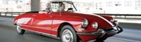 0812 02 Pl 1966 Citroen DS21 Chapron Decapotable Front Three Quarter View