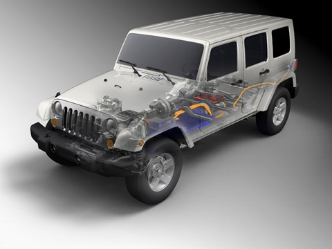 2010 Jeep Wrangler Unlimited Ev 2009 Detroit Auto Show Coverage