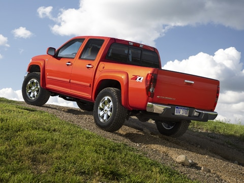 2009 Chevy Colorado and 2009 GMC Canyon - First Drive