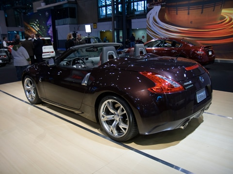 2010 Nissan 370z Roadster 2009 New York Auto Show Coverage New