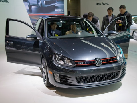 2010 Volkswagen Golf GTI - First Drive Review, 2009 New York Auto