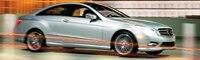0908 01 Pl 2010 Mercedes Benz E550 Coupe Front Three Quarter View
