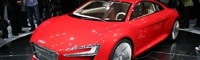 0909 02 Pl 2009 Audi E Tron Concept At Frankfurt Front Three Quarter View
