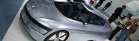 0909 06 Pl Volkswagen L1 Concept At Frankfurt Front Three Quarter View