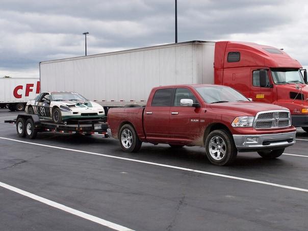 0910 02 Z 2009 Dodge Ram 1500 Towing