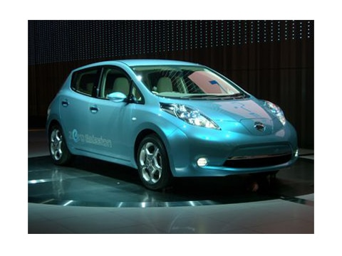 2010 Nissan Leaf Electric Vehicle 2009 Tokyo Auto Show Coverage