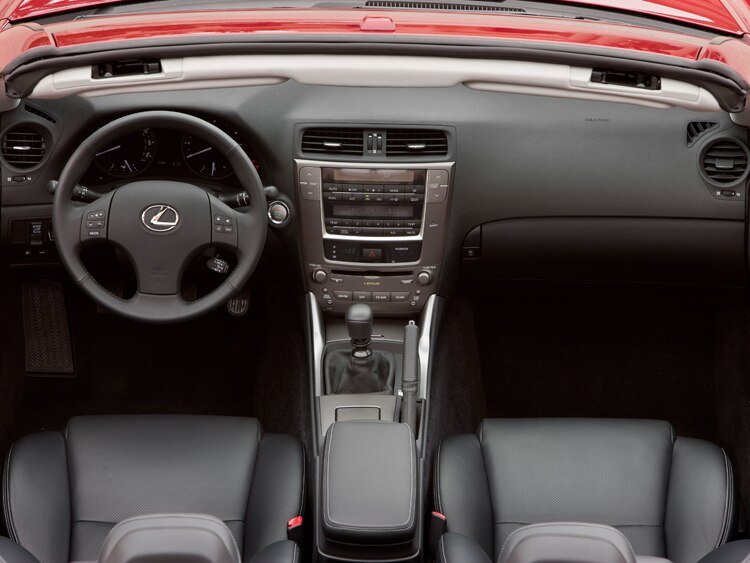 2010 Lexus IS 250 C - Lexus Luxury Convertible Review - Automobile ...
