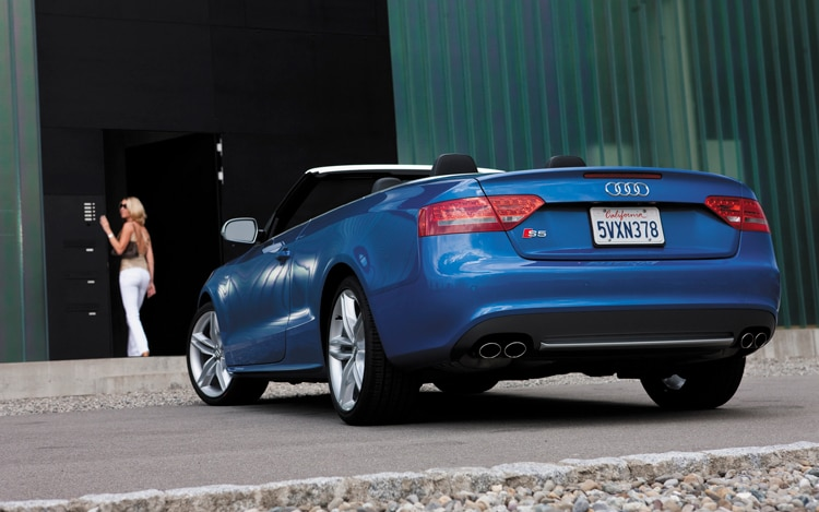 2010 Audi S5 S Tronic Cabriolet Audi Soft Top Convertible Review