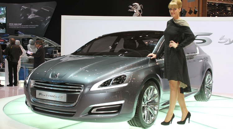 2010 5 By Peugeot 2010 Geneva Auto Show Coverage New Hybrid Car