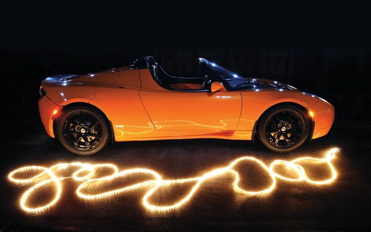 Tesla Roadster 2.0 Sport - Tesla Electric Convertible ...