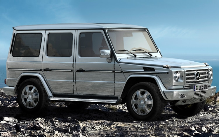 Mercedes-Benz Adds AdBlue to G-class, Creates New 2010 G350