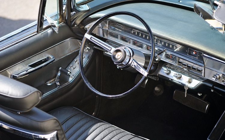 Z Imperial Crown Convertible Interior View
