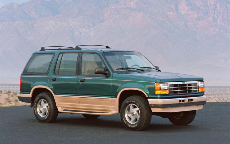 1993 Ford Explorer Exterior1