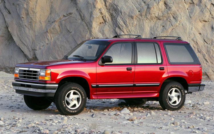 2019 - [Ford] Explorer - Page 2 1994-ford-explorer-exterior