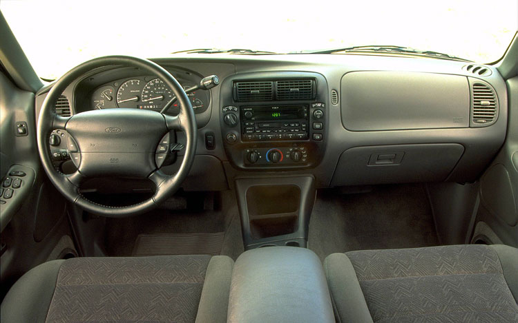 ford explorer 1998 interior