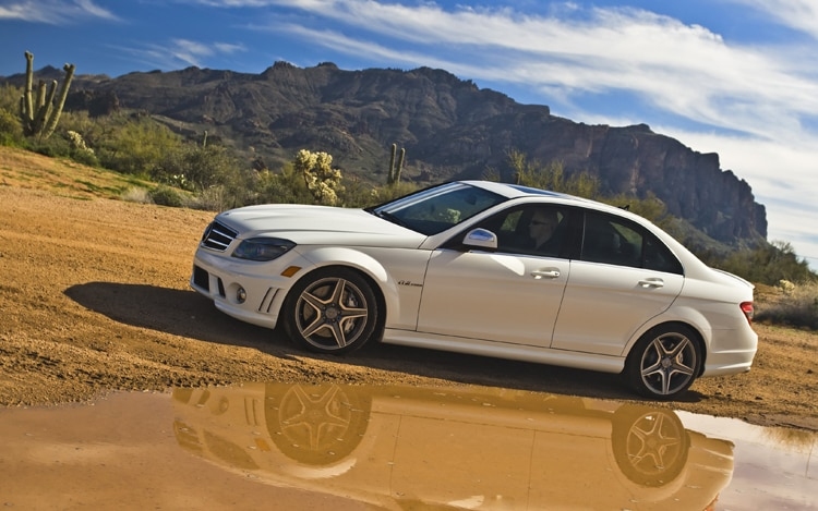 2010 Mercedes-Benz C63 AMG - Automobile Magazine