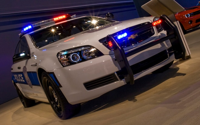 The Enforcer 2011 Chevrolet Caprice Police Patrol Vehicle Fastest