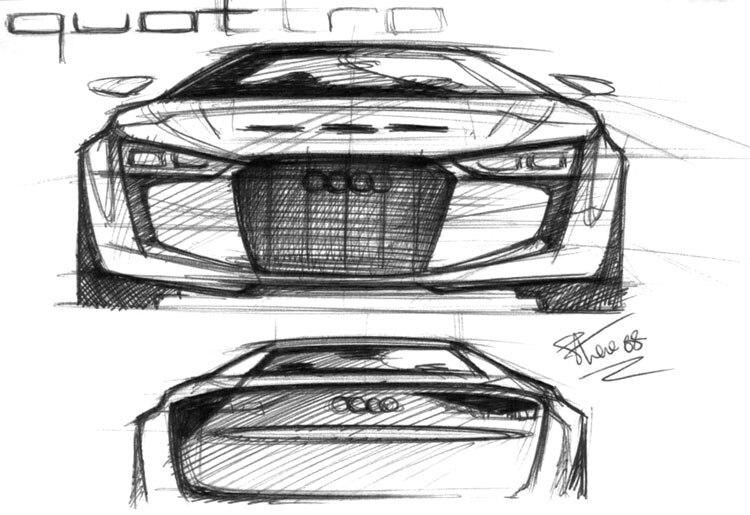 Audi Quattro Concept 2010 Paris Auto Show Automobile Magazine
