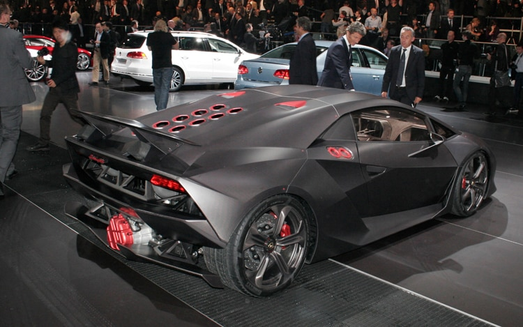 Lamborghini Sesto Elemento 2010 Paris Auto Show Automobile Magazine