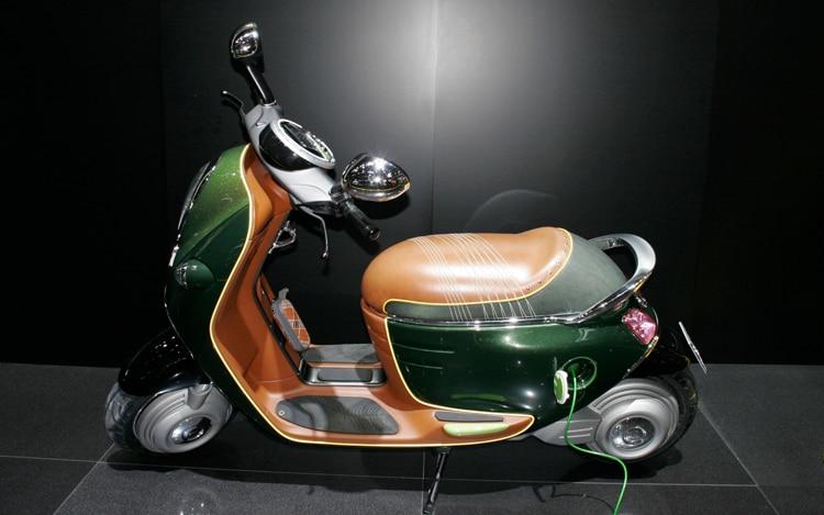 Mini Scooter E Concepts First Look 2010 Paris Auto Show