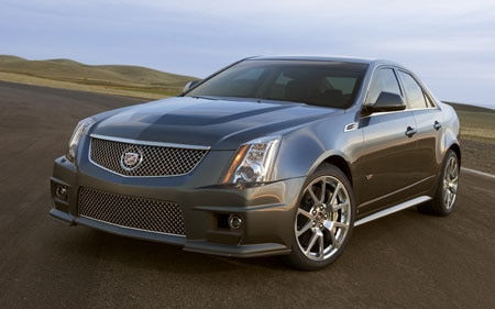 2010 Cadillac CTS V Sedan Hp