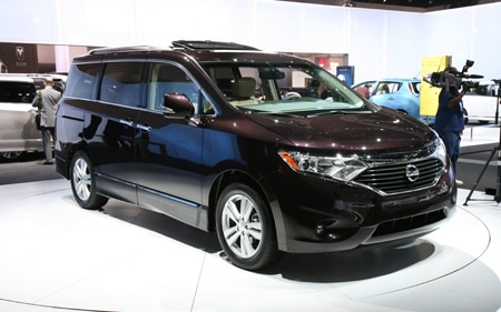 2011 Nissan Quest First Look Automobile Magazine