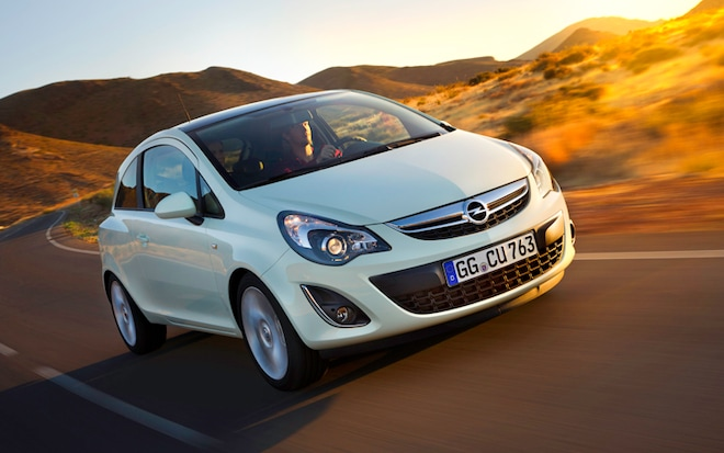 Pretty New Face 2011 Opel Corsa Revealed