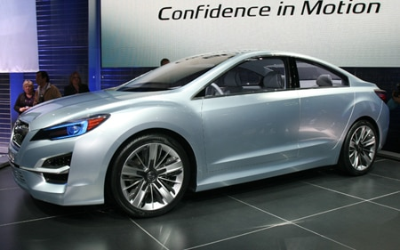 Subaru Impreza Design Concept Promo